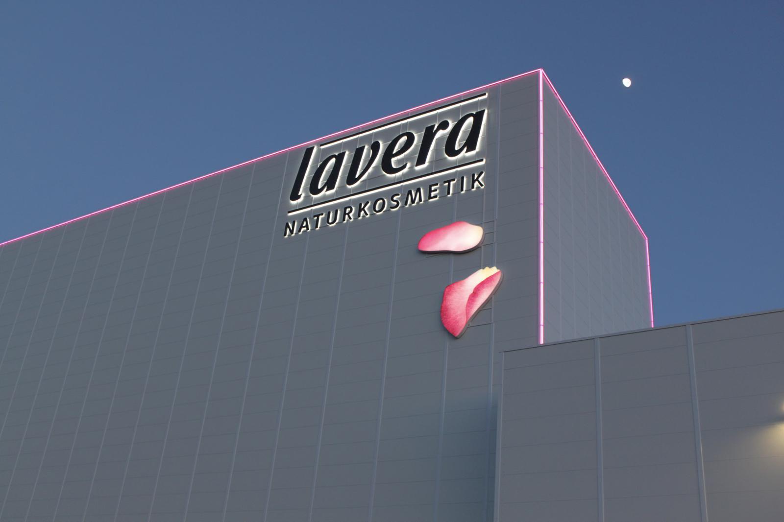 Lavera Werbeanlage